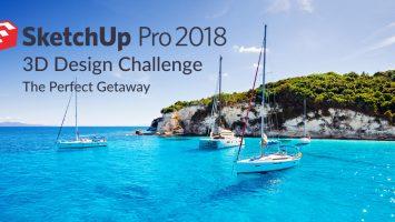 Sketchup Pro 2018 Challenge